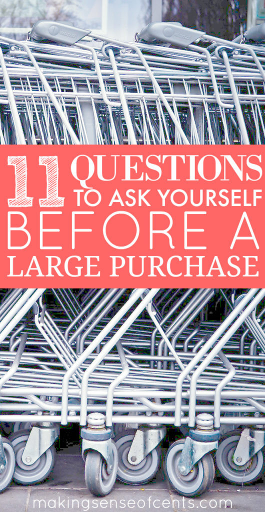 Everyone has felt that dreadful feeling after you make a large purchase and realize that you have made a mistake. Here are tips so that you can avoid that!