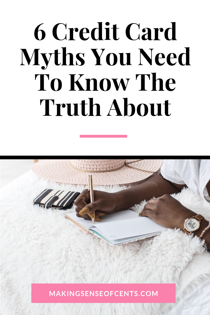 As someone in the financial space, I have heard tons of bad advice regarding personal finance. Some of the worst advice I've heard has been credit card myths. #creditcardmyths #moneymanagement