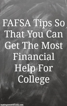 Do you know what FAFSA is? If you are in college or about to enter college, I hope you do!
