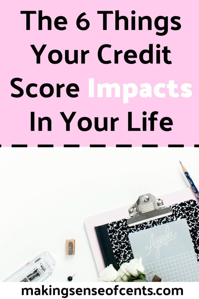 What Does Your Credit Score Impact?