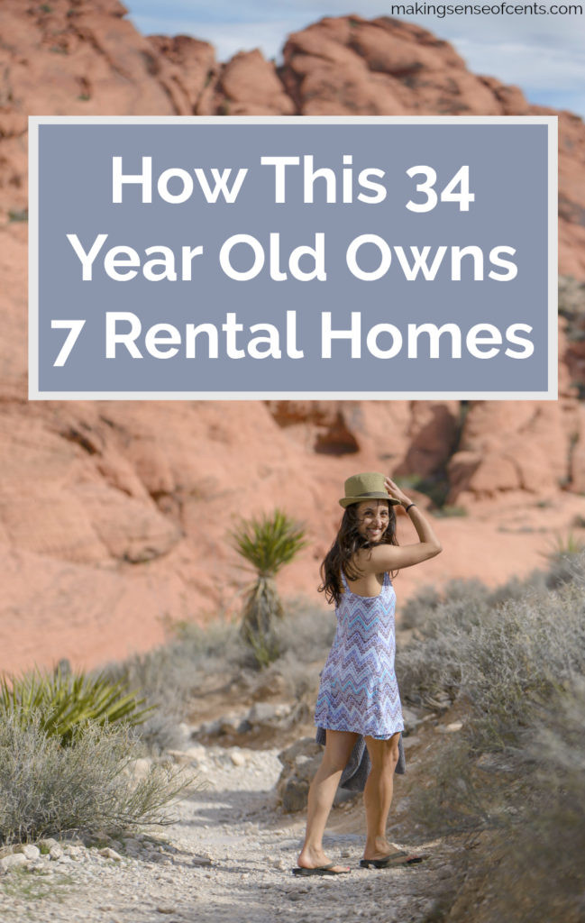How This 34 Year Old Owns 7 Rental Homes #rentalrealestate #makeextramoney #landlord #passiveincome