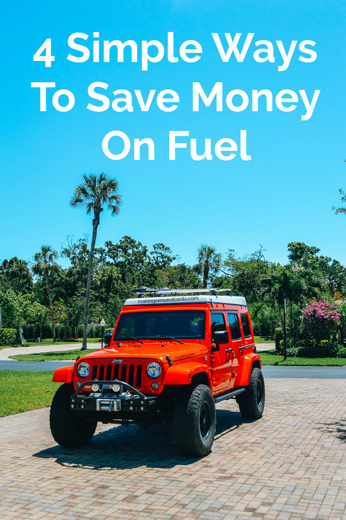 4 Simple Ways To Save Money On Fuel