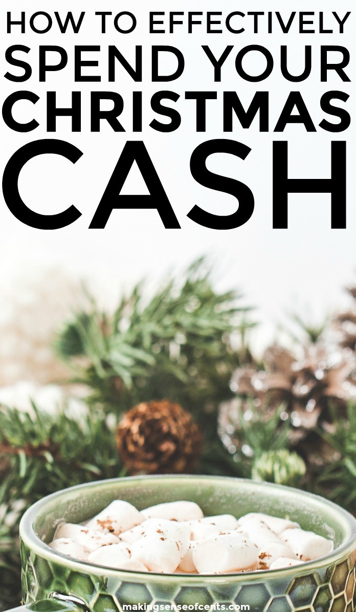 Find out how to effectively spend your Christmas cash. This is a great list!