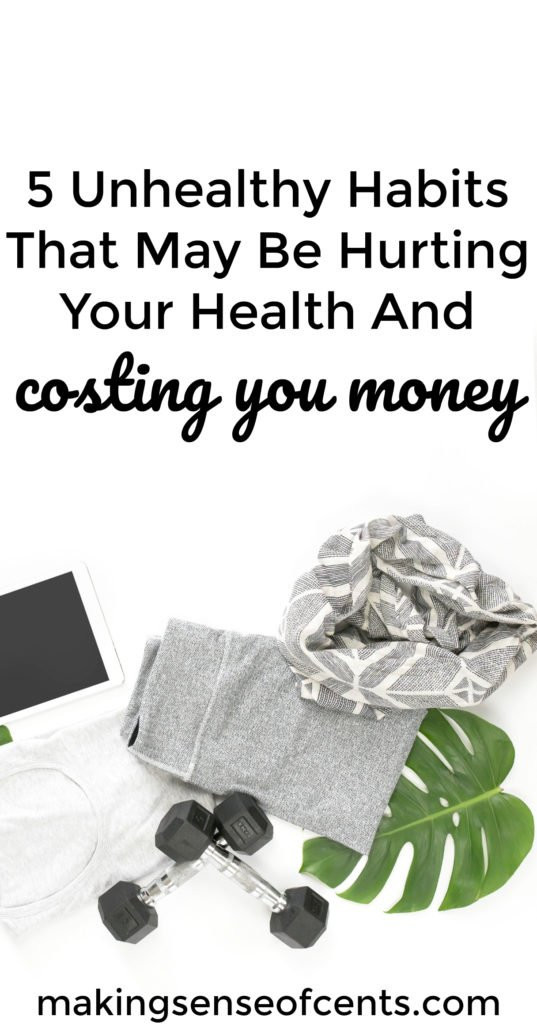 Did you know that your unhealthy habits may be be hurting your health and possibly even costing you money? This list of bad habits is something you should read!