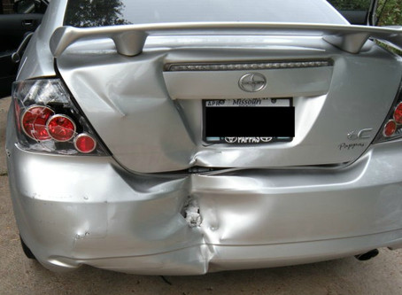 That time when I was in an accident