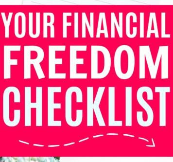 Your Financial Freedom Checklist