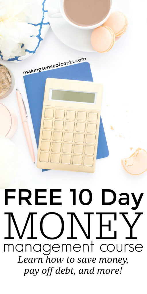 With this free money management course, you can finally manage your money better, pay off debt, save more money, reach financial freedom, and more. Learn how to save money in college, how to save money for a house, how to save money each week, how to save money in your 20s, monthly, on bills, groceries, and more!