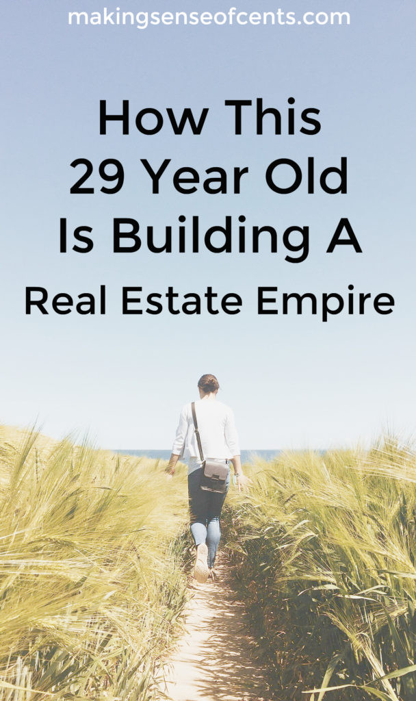 29 year old Elizabeth Colegrove is a successful real estate investor. She owns 8 properties and isn't slowing down. Here's how she did it.