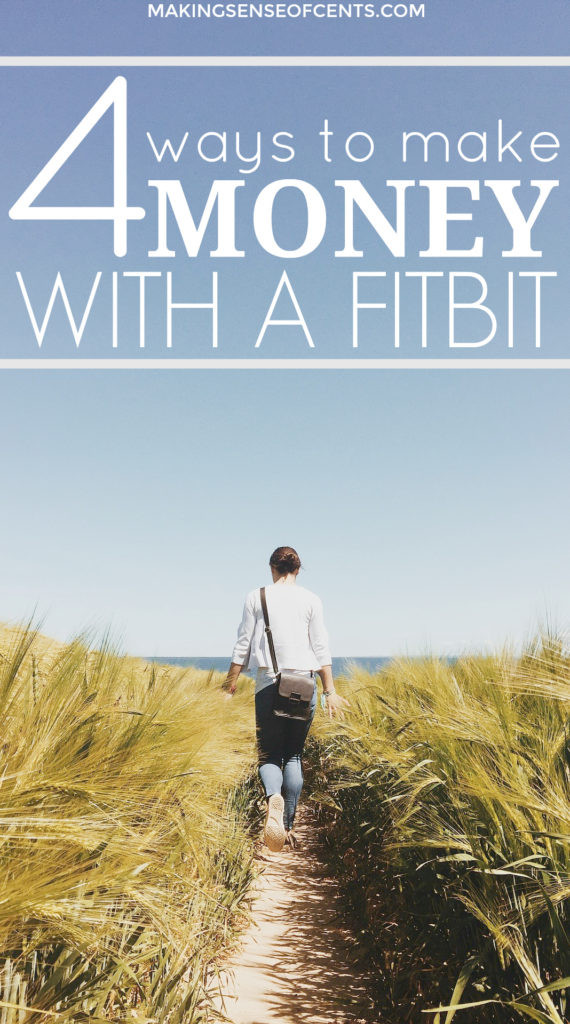 Did you know that you can earn money with a Fitbit? Yes, you can! Read this post to learn how you can make money and points by using it how you normally do.