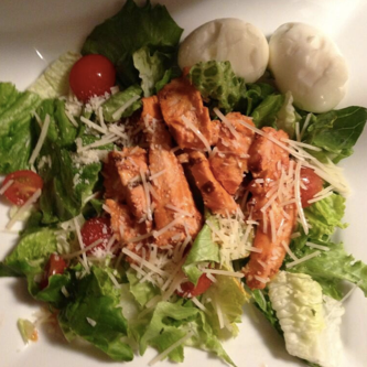 Buffalo Chicken Salad from last night