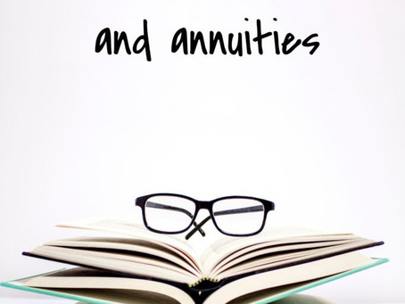 The importance of lifetime income and annuities