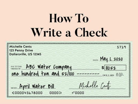 6 Simple Steps That Will Teach You how to write a check