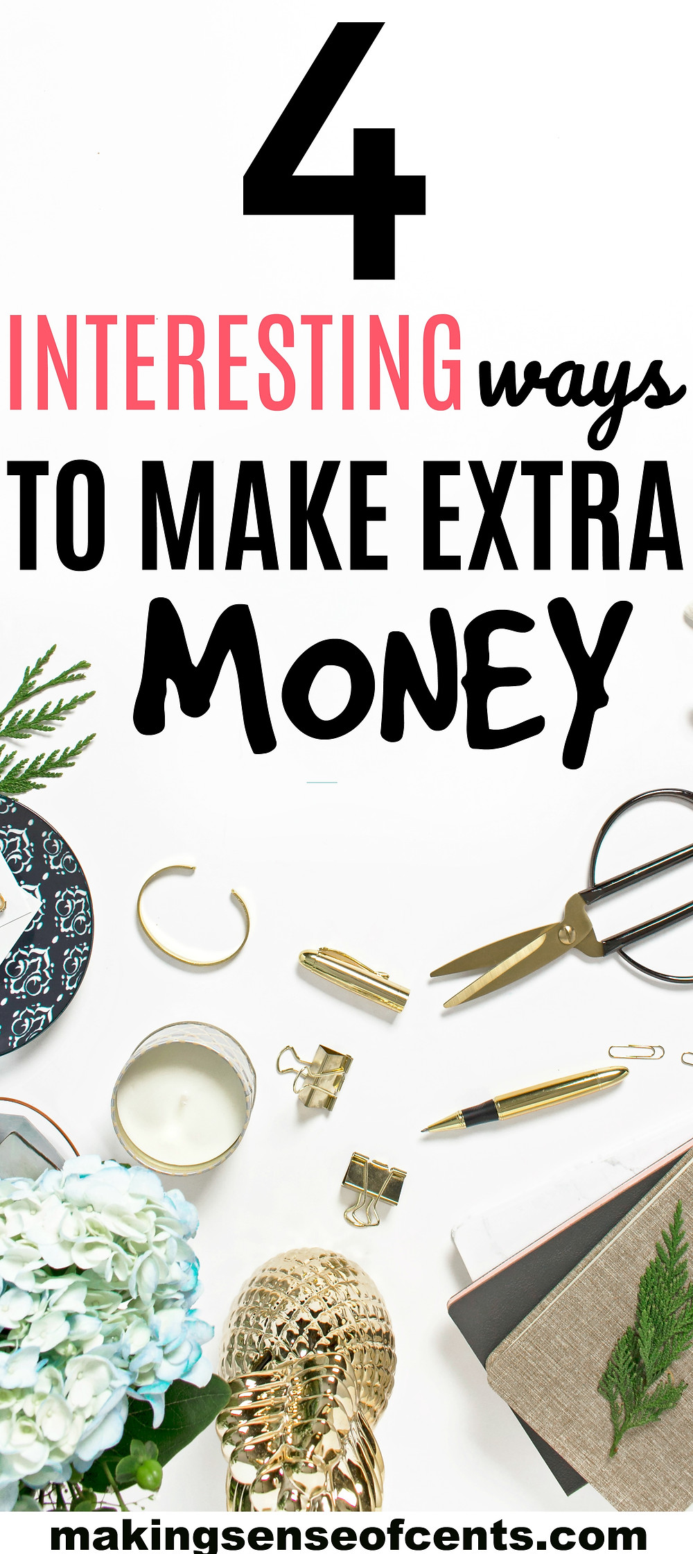 Check out this list of interesting ways to make money! #makemoney #makingmoney