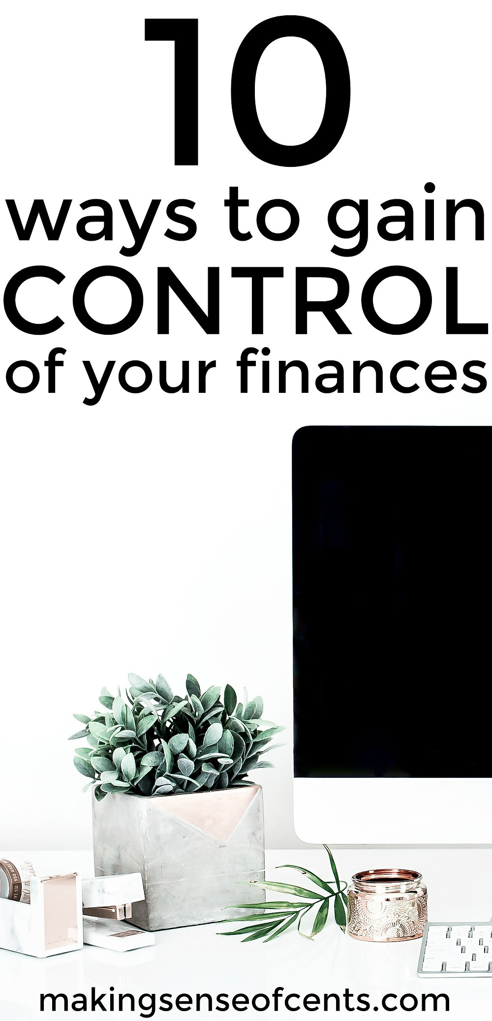 Find out how to gain control of your finances with these helpful tips. This is a great list!