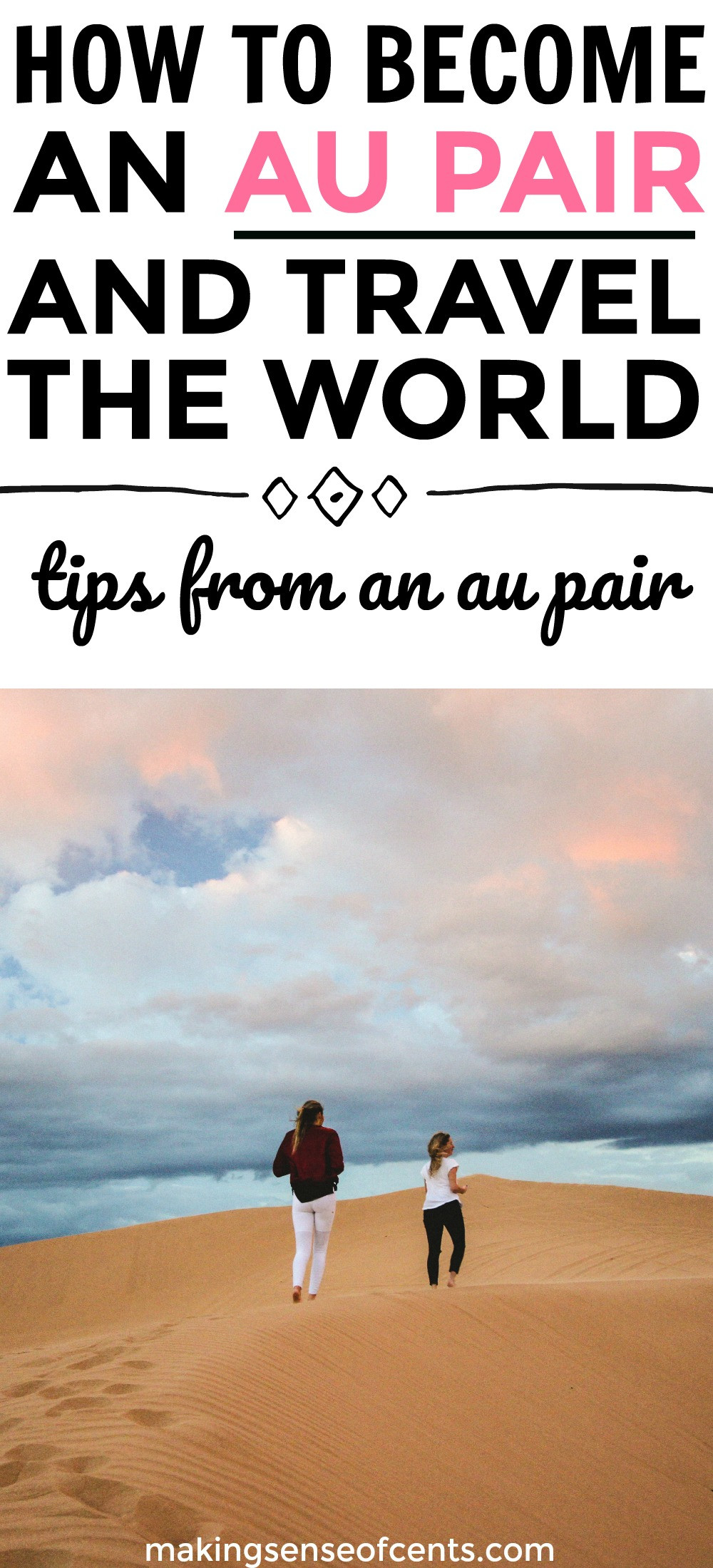 Find out how to become an au pair with tips from a real au pair! #aupair #travelabroad
