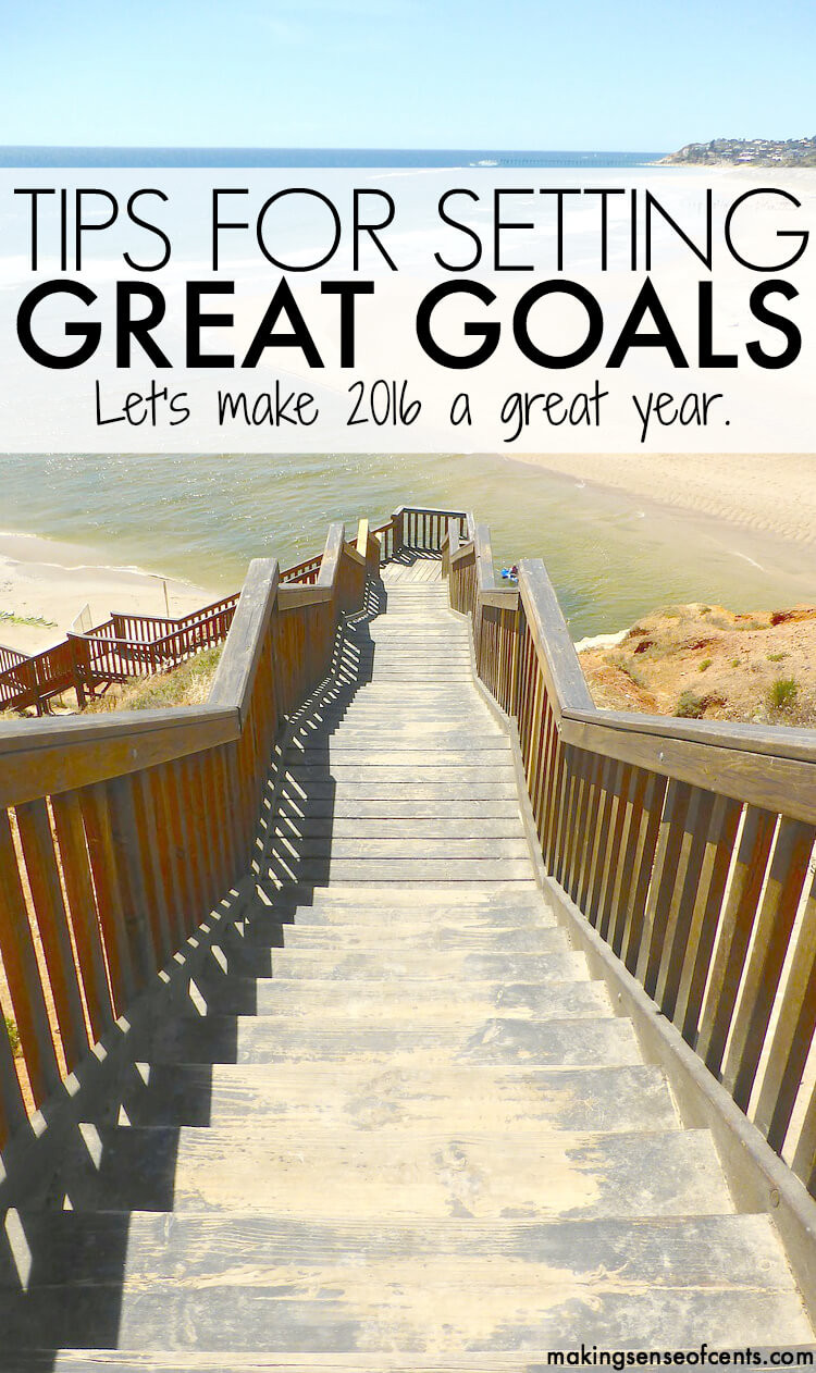 Setting Great Yearly Goals - Let's Make 2016 Great