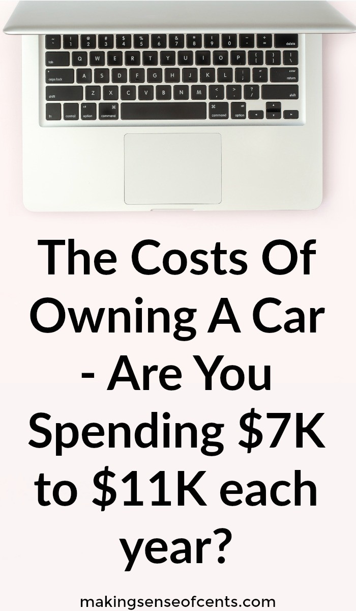 The Costs Of Owning A Car - Are You Spending $7K to $11K each year?