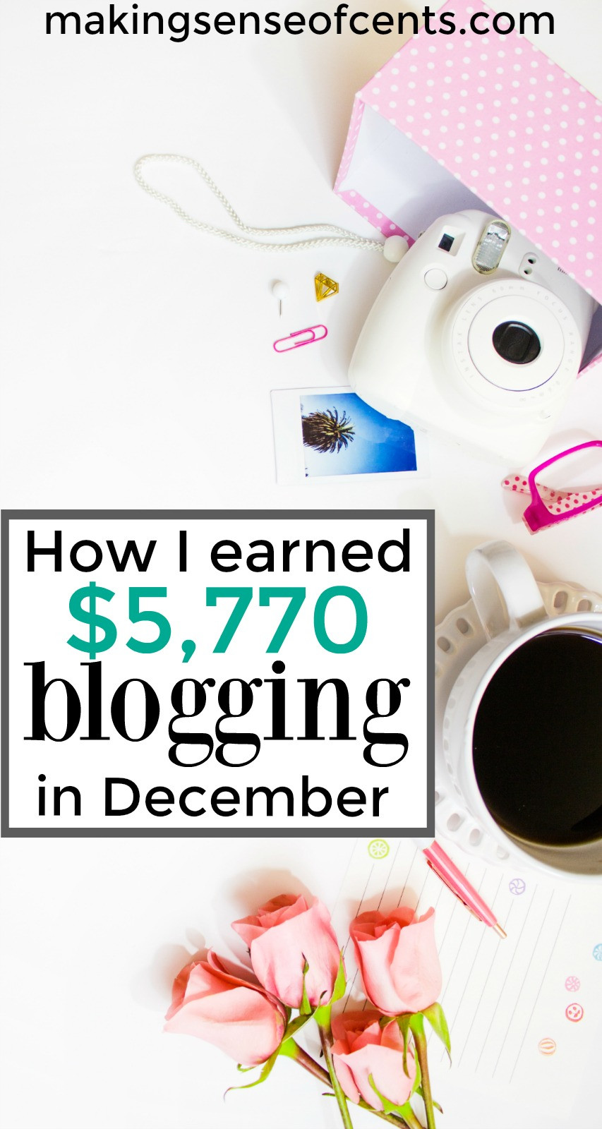Find out how I earned $5,770 blogging in December. This is a great list!