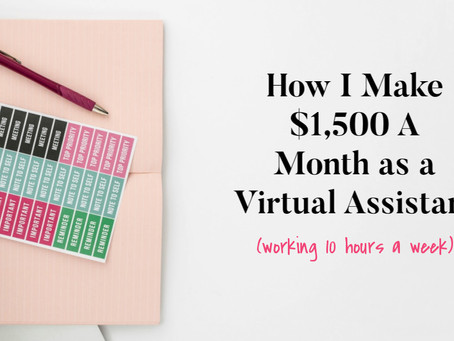 How I Make $1,500 A Month As A Podcast Virtual Assistant
