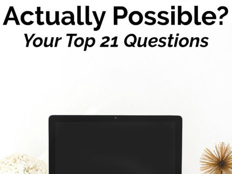 Is Making Money From A Blog Actually Possible? Your Top 21 Questions Answered
