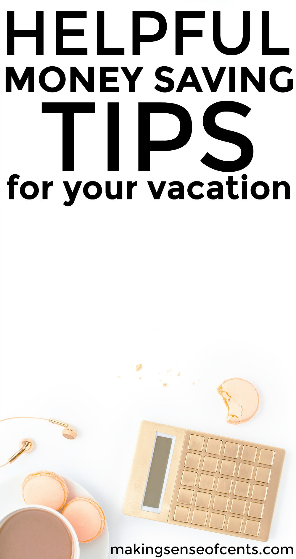 Check out these helpful money saving tips for your next vacation. This is a great list!