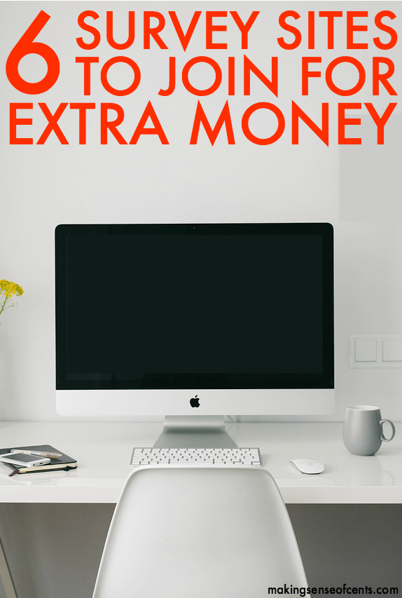 6 Survey Sites To Join For Extra Money