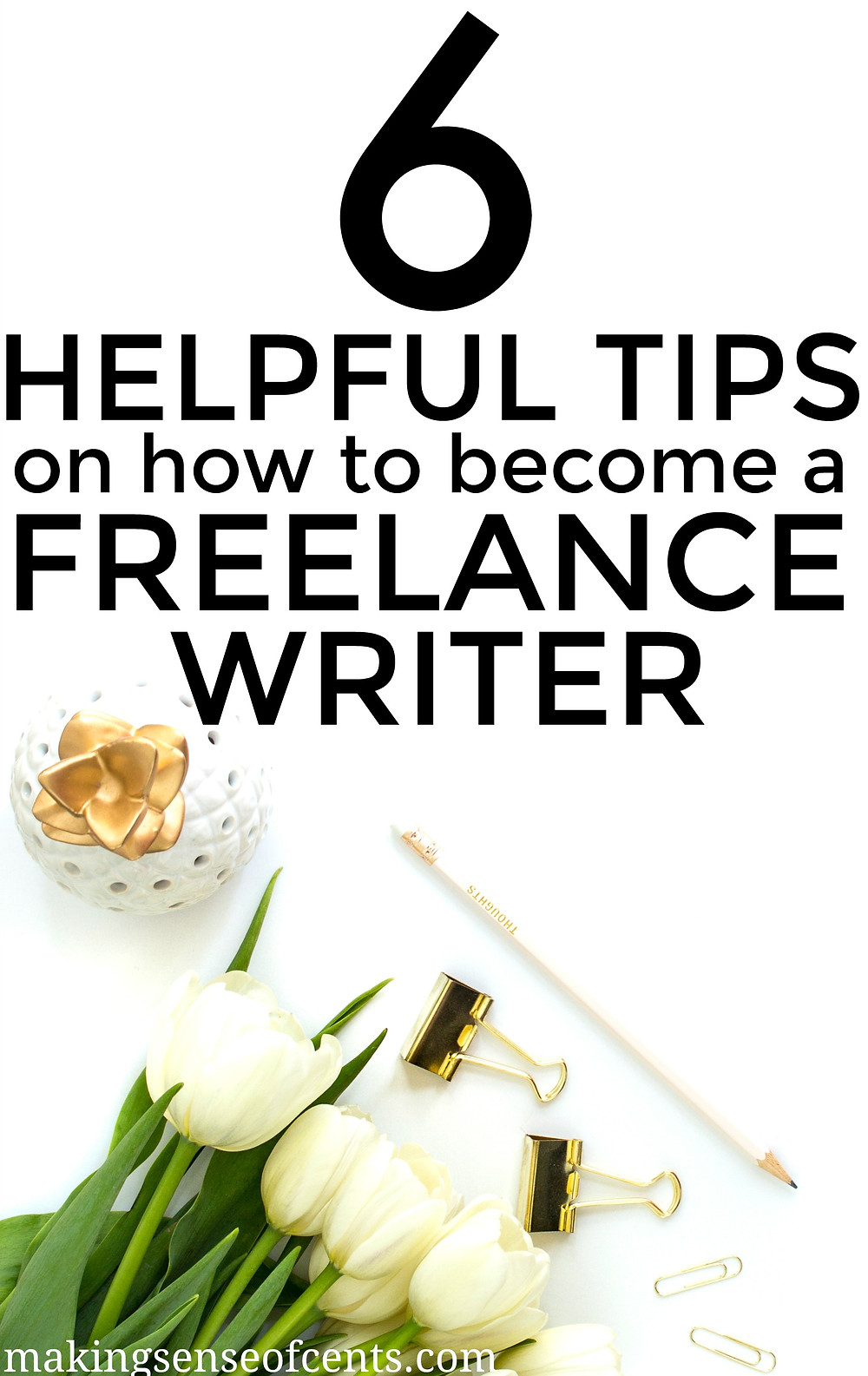 Find out what you need to know about becoming a freelance writer. This is a great list!