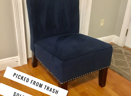 How We've Turned A Free Chair Into $103,000