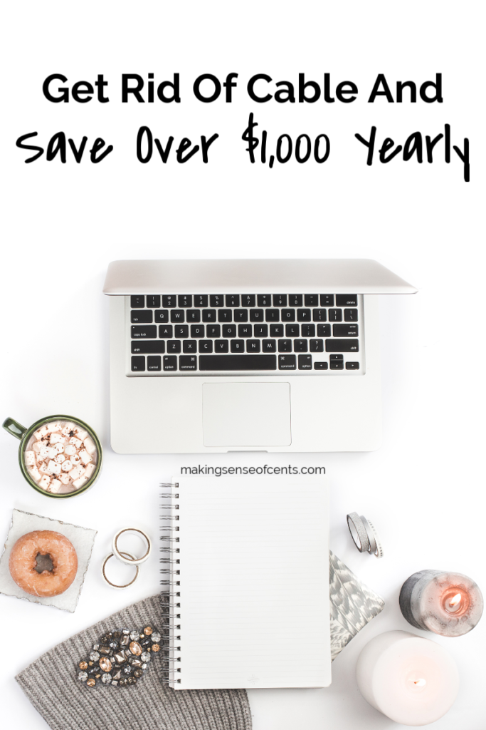 Cut The Cord And Save Over $1,000 Every Year #getridofcable #moneysavingtips #cutthecord