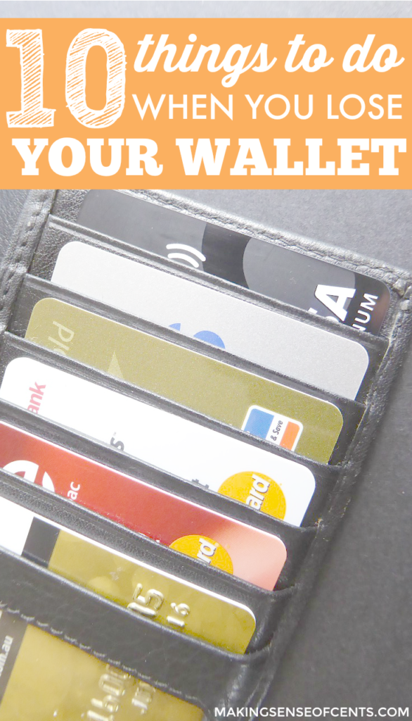 Losing your wallet can be a stressful situation. Whether it's stolen or you lost it, here's what to do when you lose your wallet.