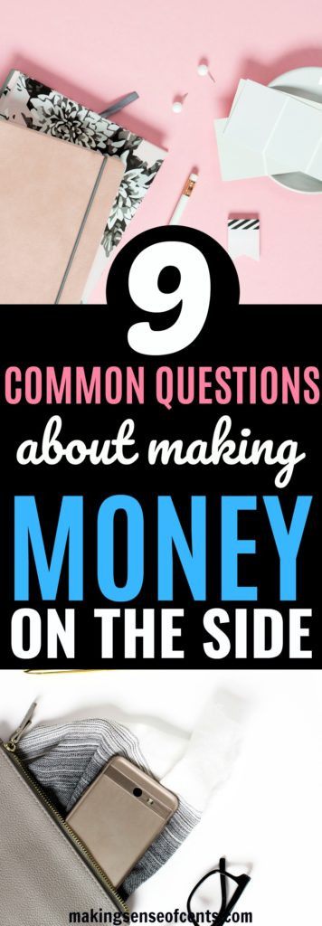 Having a side hustle is great for many reasons, like helping you pay off debt, save more money, test out a business idea, reach financial freedom, and more. Here are your common side hustle questions. #sidehustle