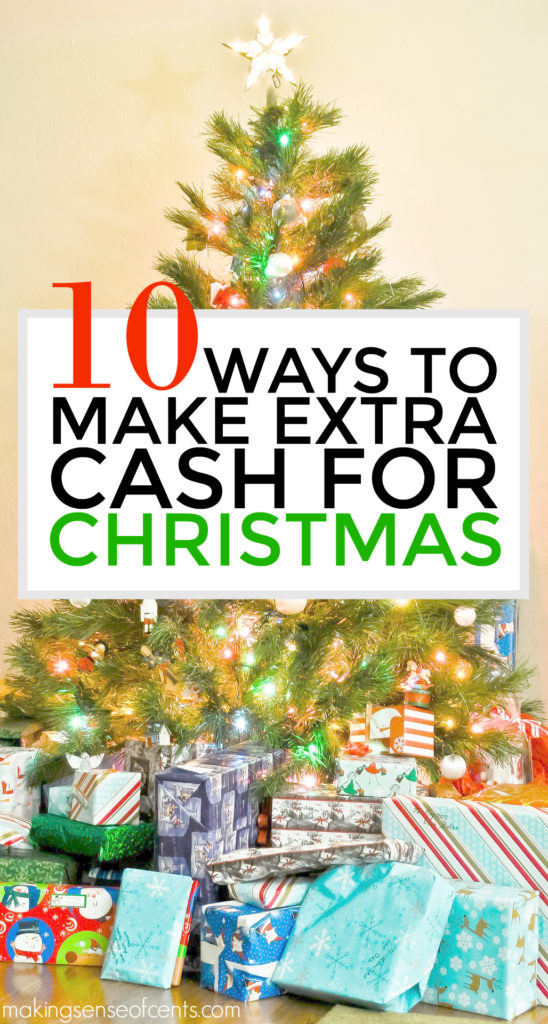 Are you looking to make extra money for the holidays? Check out this post for 10 great ways to make extra money for Christmas so that you can have more Christmas money!