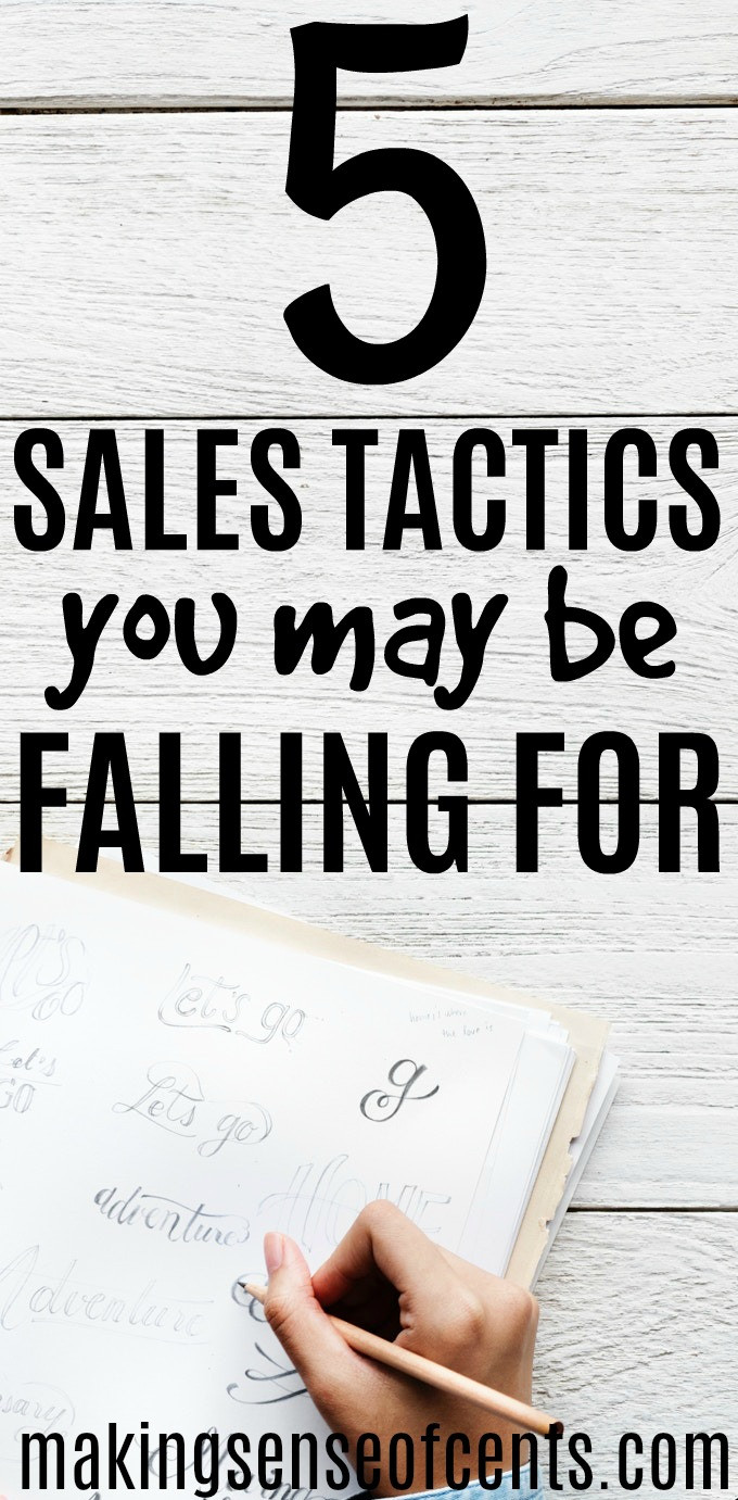 Sales Tactics You May Be Falling For