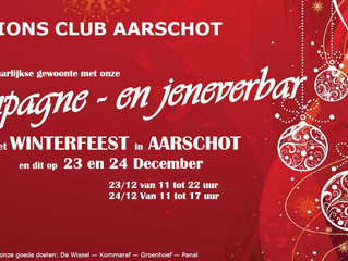 Winterfeest Aarschot - Champagne- en Jeneverbar