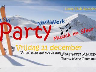 Lions Club Aarschot organiseert voor de tweede maal haar afterwork party en dit op vrijdag 21 decemb
