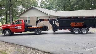dumpster rental conway cabot greenbrier sherwood jacksonville