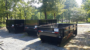 15 yard roll off dumpster