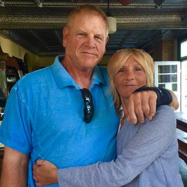 New York Giants Doug Van Horn & Colleen Van Horn