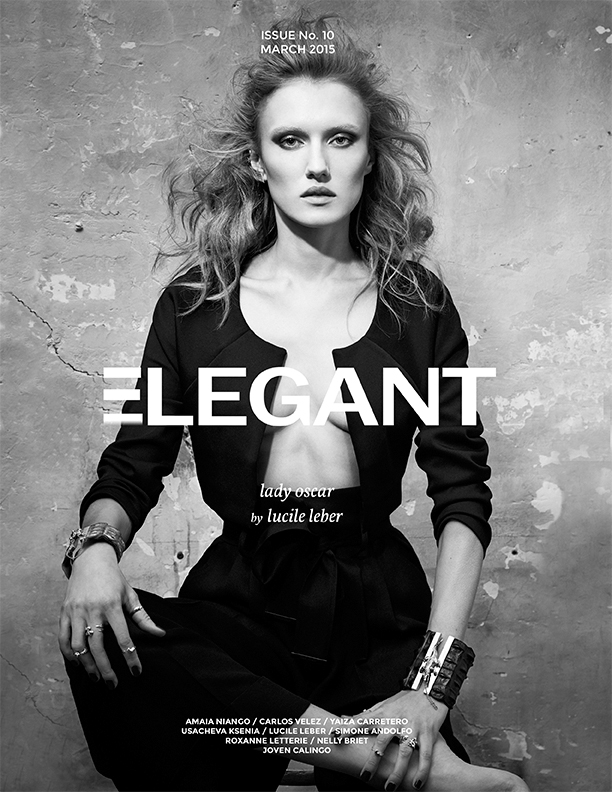 Lady Oscar Cover for Elegant Mag-Print