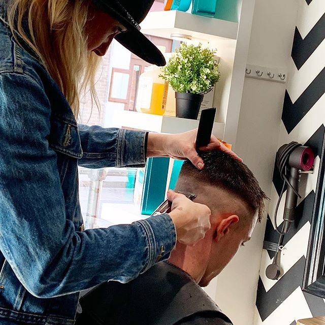 we love being a unisex salon - it means