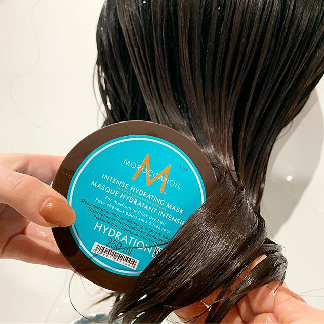 try our _moroccanoil hydrating masks at