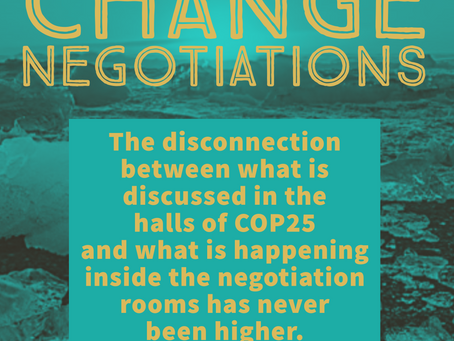 Part 1: Climate Reality vs Climate Talks