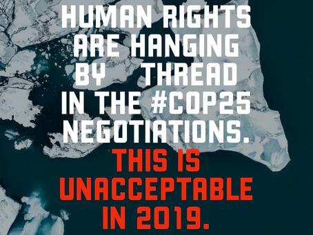 Part 2: Human Rights at COP25