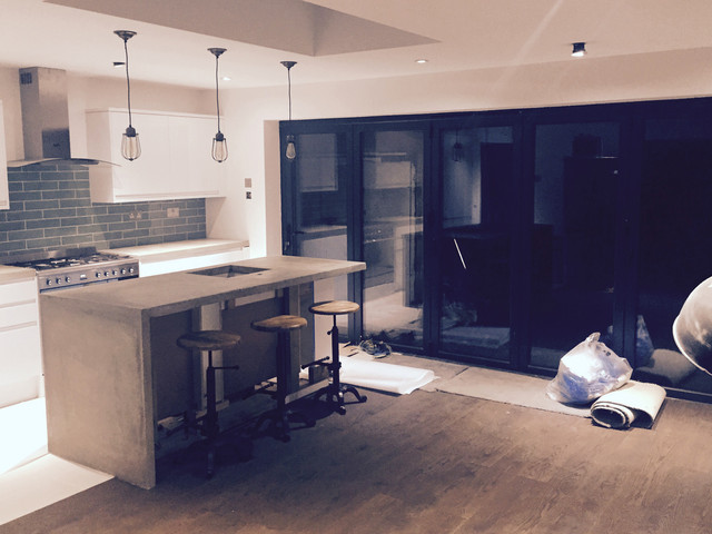 Bespoke concrete worktops