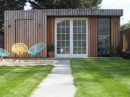 Garden Studio with hidden storage