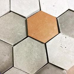 HoneyBee Concrete Wall Decor 3D Hexagone Tiles