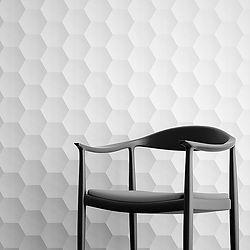 Incredible HoneyBee hollow 3D wall tiles. Golf ball wall