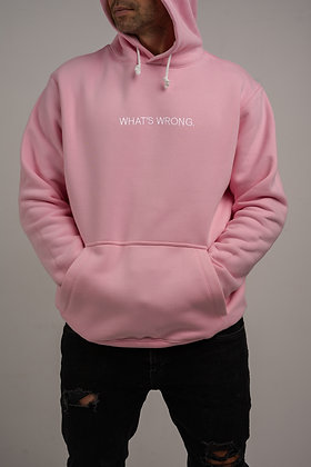 WHAT'S WRONG hoodie