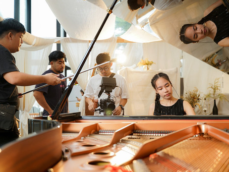Yamaha Young Talent - Grand Piano Shooting at 'Palam Palam Museum' at Asiatique