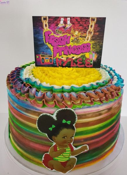 The Fresh Princess of Bel-Air Cake